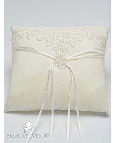 Coussin d'alliances Bianco Evento